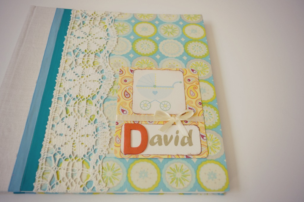 album handmade bebe david1
