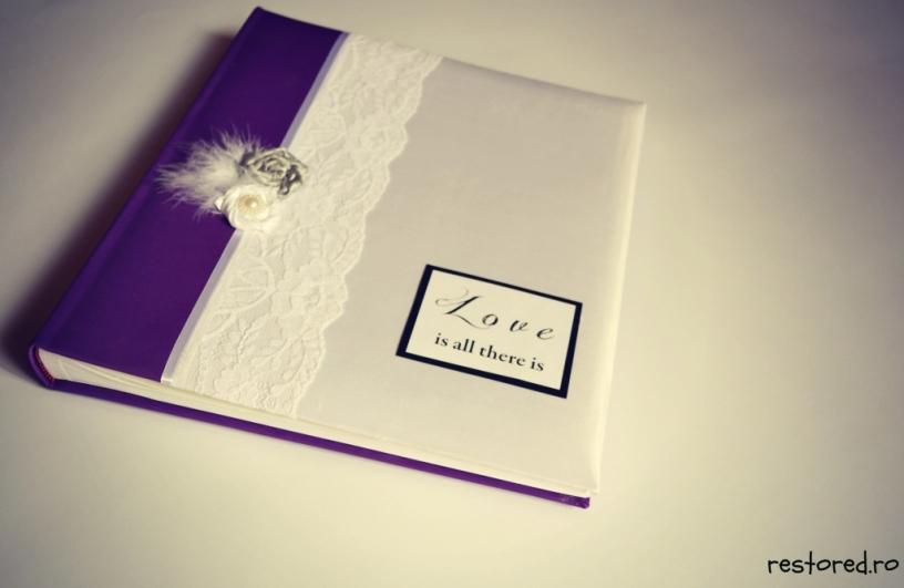album-nunta-violet-argintiu