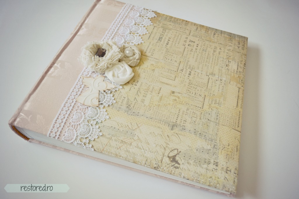 album si guestbook shabby chic1