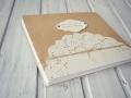 album handmade rustic