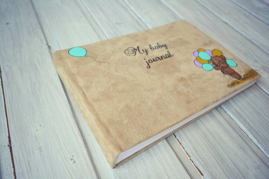 album handmade piele copii