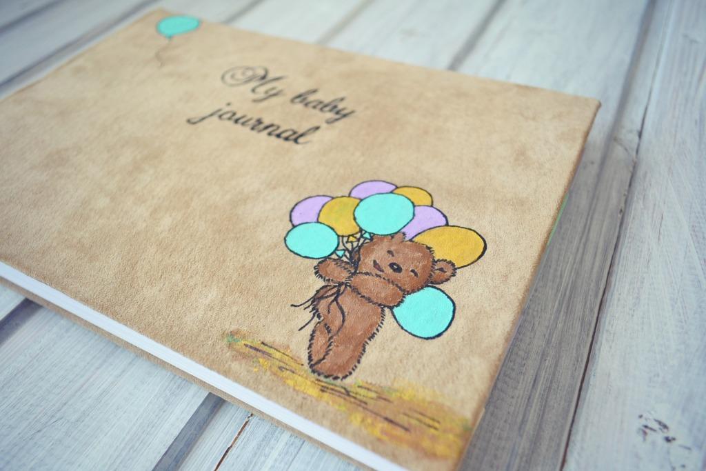 album handmade piele copii2