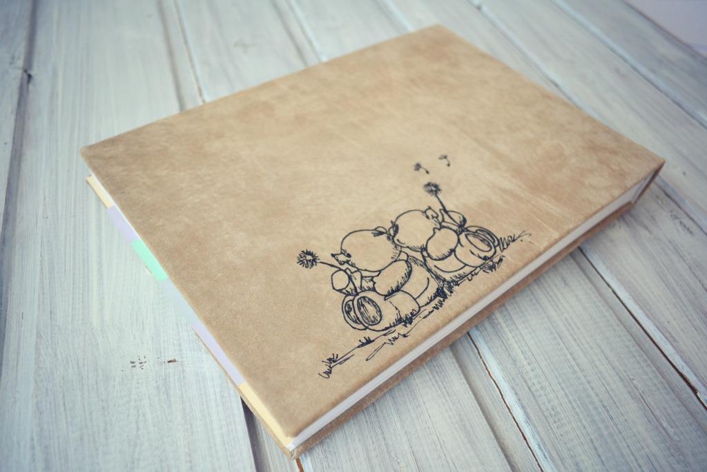 album handmade piele copii3