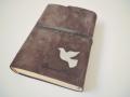 biblie de piele intoarsa maro.JPG