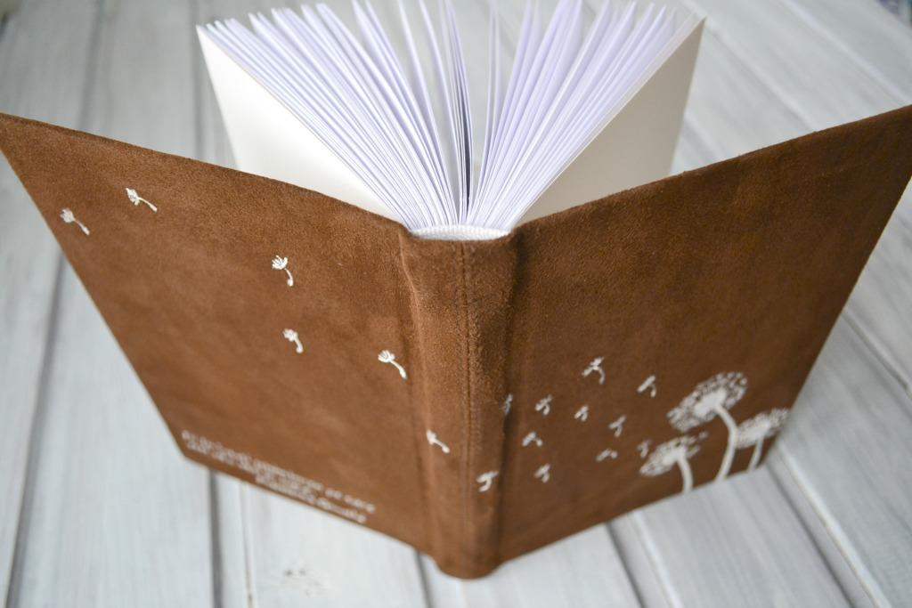 jurnal handmade piele papadii3