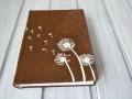 jurnal handmade piele papadii1